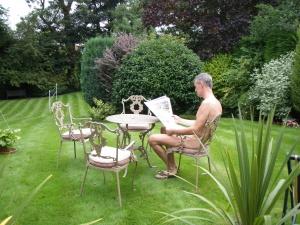 Adam's naturist retreat - garden